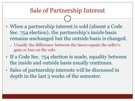 Chapter 2 Partnership Formation And Computation Of Partner