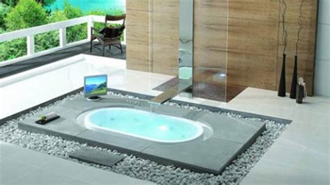 cool bathtub create a relaxing bathroom atmosphere with overflow