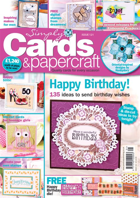 Simply Cards And Papercrafts - simply cards papercraft 121 on sale now
