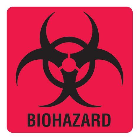 printable biohazard label biohazard warning labels marketlab inc