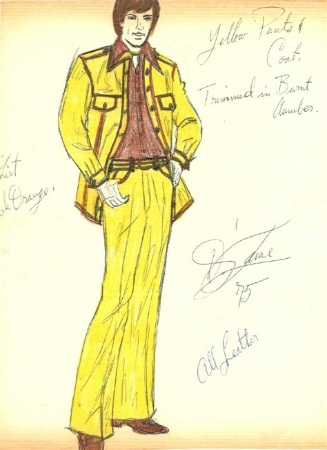 Fashion Sketches 70s by He Outsider Pages 1970s Fashion Drawings Photo 7