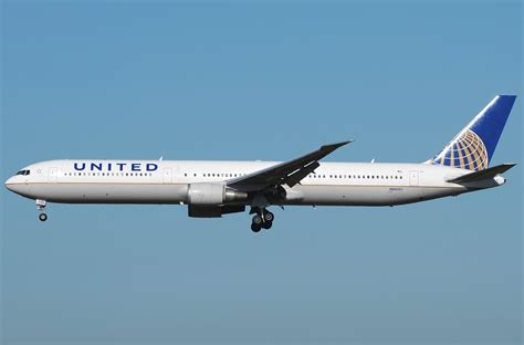 united flight boeing 767 400 united airlines photos and description of