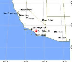 sun city california map sun city california ca 92586 profile population maps