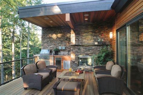Stone Backsplash Ideas For Kitchen by I Vantaggi Degli Appartamenti Con Terrazzo Costruire Una