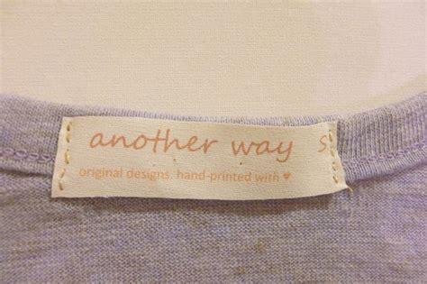 diy make your own clothing labels