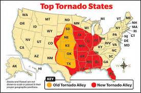 map of the united states tornado alley missouri the new tornado alley spradling home inspections