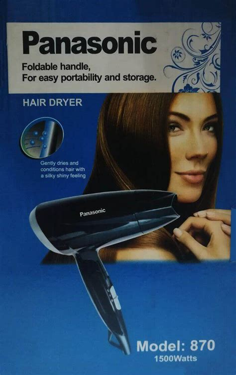 Panasonic Hair Dryer Model buy panasonic hair dryer 1500 watts model 870 in