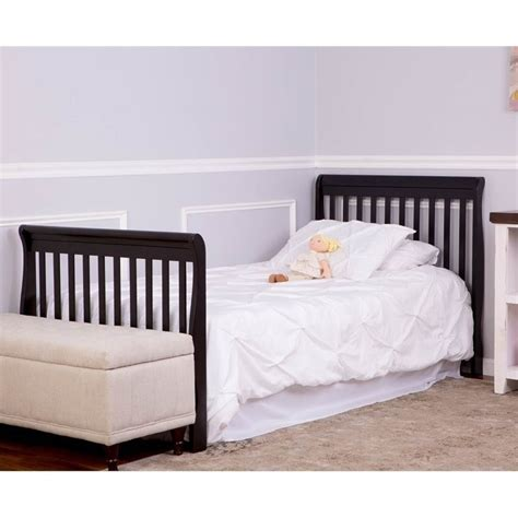 Dream On Me Aden 4 In 1 Convertible Mini Crib Espresso On Me 3 In 1 Aden Convertible Mini Crib