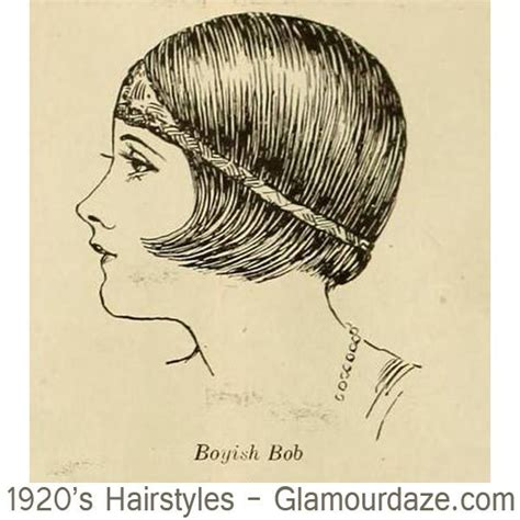 Drawing Of Shingle Haircut Style | 12 classic bob cuts 1924 in 1924 the us national
