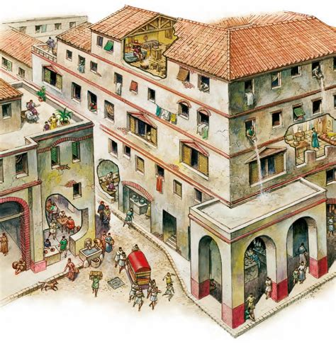 home design stores rome in ancient greek and roman cities whole blocks of housing