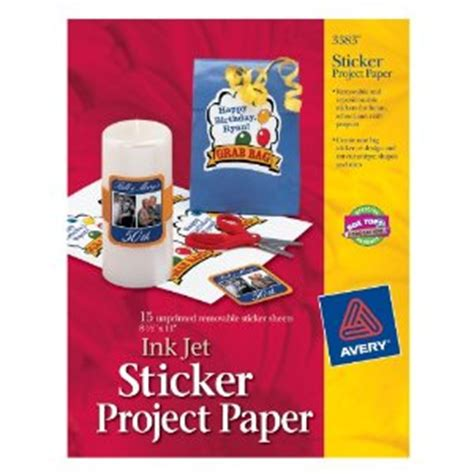 Paper To Make Stickers - 5 printing supplies for creating classroom materials