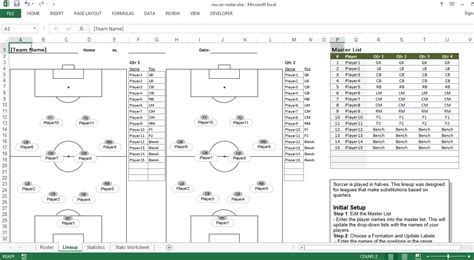 sheet template excel soccer roster free excel template excel templates for