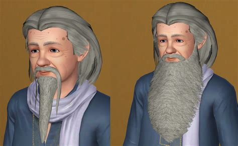 actor sims 4 guide mod the sims wizard and gandalf beards