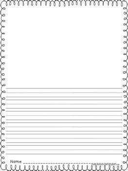 printable journal paper with picture space free primary writing papers both with picture and all