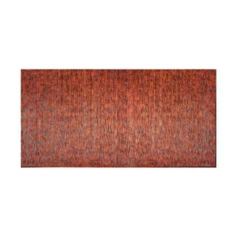 fasade diamond plate 96 in w x 48 in h x 0 013 in d fasade rib 96 in x 48 in decorative wall panel in