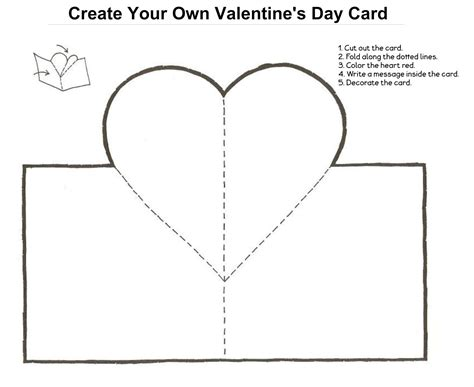 make your own valentines card for free make your own s day card make your own