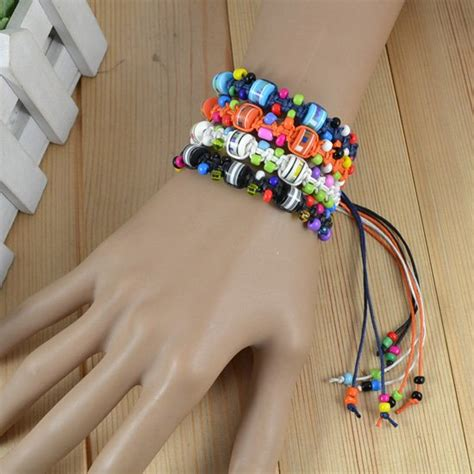 How To Make Handmade Friendship Bracelets - recommend fashion jewelry weave rope string small