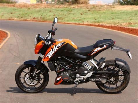 Ktm Duke New Bike Newly Released Bajaj Ktm Duke 200 Bike Bikes