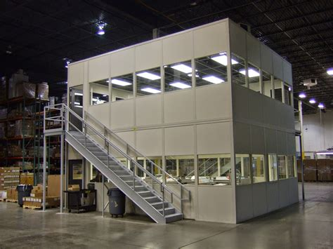 warehouse design modular offices ak material handling