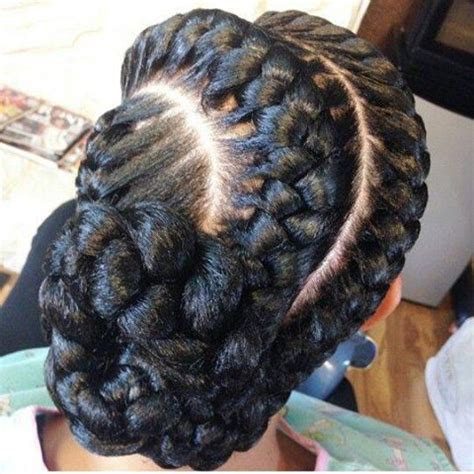 goddess braids three goddess braids pinwheel bun under braid hairstyles for