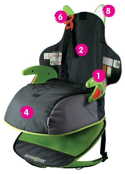 travel booster seat uk trunki boostapak travel backpack booster car seat pink