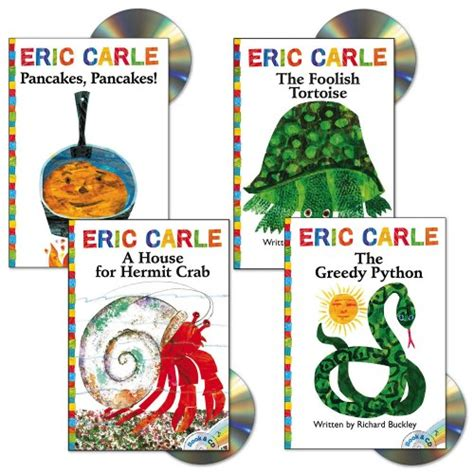 eric carle picture books eric carle book and cd set set of 4