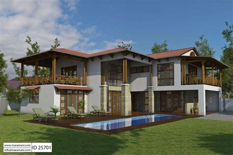 5 bedroom home bali style house with 5 bedrooms id 25701 house plans