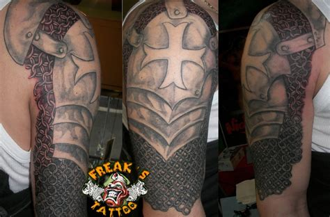 body armour tattoos designs armor chain mail plate armor