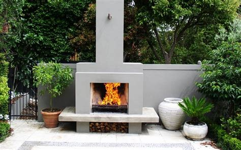 Garden Fireplaces by Handmade Outdoor Fireplaces By Alfresco Fires Cox