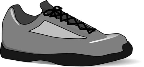 animated running shoes running shoe cliparts co