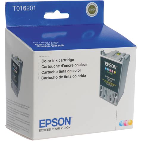 color ink cartridge epson color ink cartridge for sp2000p t016201 b h photo