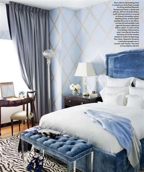 Blue Velvet Headboard Lucite Bench Crushed Velvet Headboard Stylish Bedrooms Pinterest The Crushed
