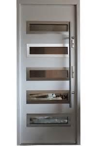 Double Pocket Doors Quot Tokyo Quot Stainless Steel Modern Entry Door In White Finish