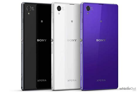 sony xperia zs prices compare   plans   carriers whistleout