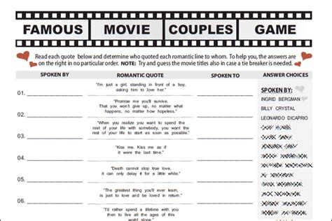 printable games for lovers printable bridal shower games
