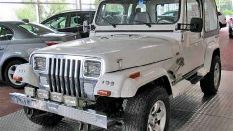 Jeep Wrangler Laredo Jeep Wrangler Laredo 2 5 4x4 Modell 1990 Wei 223 29834 Www