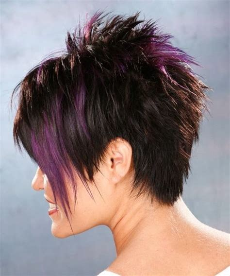 back of razor haircuts short razor haircut back view hair pinterest