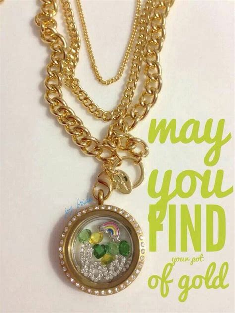Origami Owl Necklace Cost - 70 best march baby st patty birthday images on