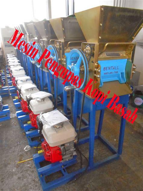 Mesin Gongseng Kopi mesin pengupas kulit kopi basah mesin pulper kopi