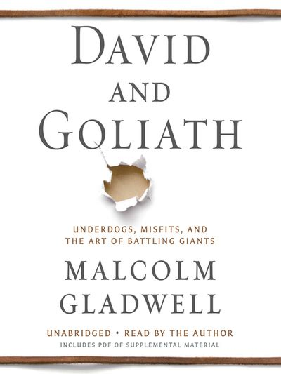 david and goliath underdogs 0241959594 david and goliath underdogs misfits and the art of battling giants by malcolm gladwell