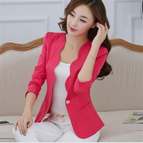 Setelan New Hania Set By Moda new fashion 2018 autumn suit jacket coat solid color slim ol work wear