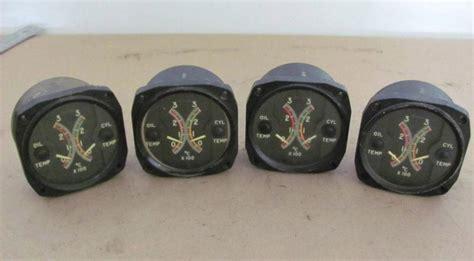 Indicator R175 find warbird vintage aircraft cylinder temp