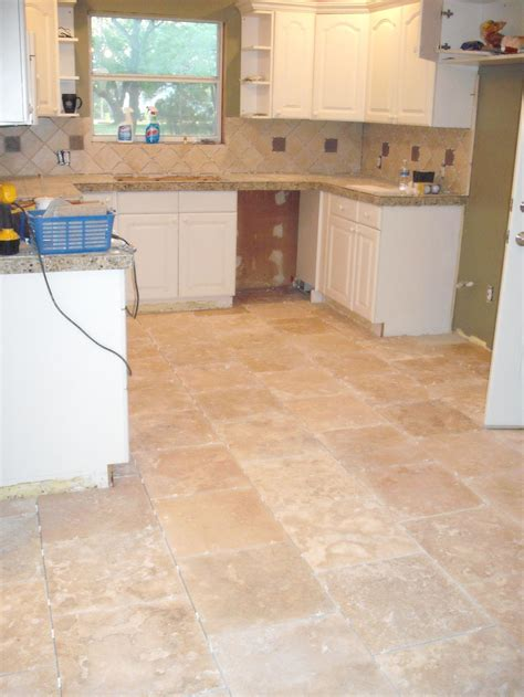 travertine kitchen floor travertine flooring kitchen images