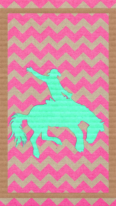 girly horse wallpaper iphone wallpaper phone background cowgirl cowboy bucking