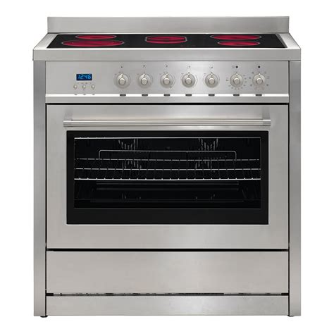 electric oven ceramic cooktop fcps euromaid