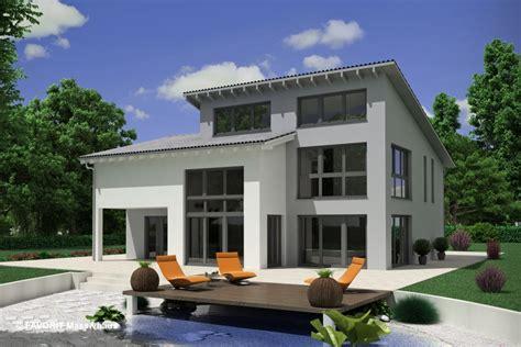 fertighaus mit einliegerwohnung separater eingang creativ sun 211 pultdach und satteldach bauunternehmer