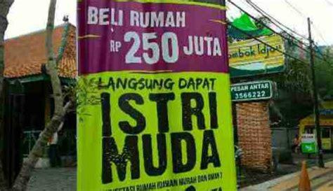 Jual Lu Sorot Semarang iklan rumah rp250 juta dapat istri muda hebohkan semarang