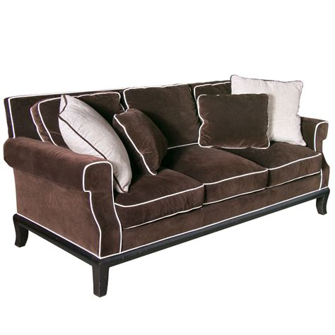 chocolate brown sectional sofa with chocolate brown velvet sofa 39 best velvet sofa images on