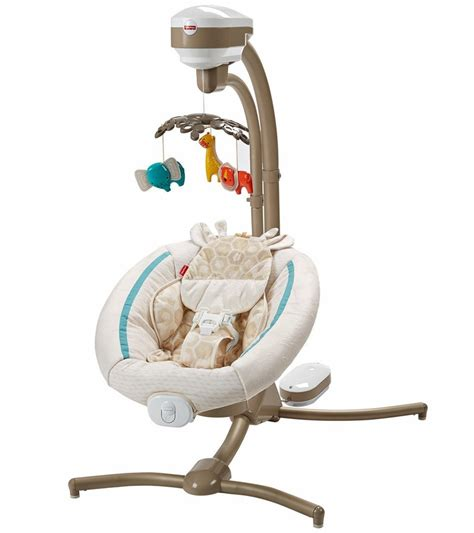 cradle and swing fisher price soothing savanna cradle n swing