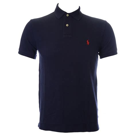 polo ralph slim fit newport navy polo shirt polo